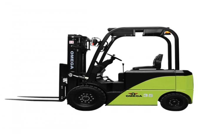 4 tekerli Elektrikli OMEGA Forklift